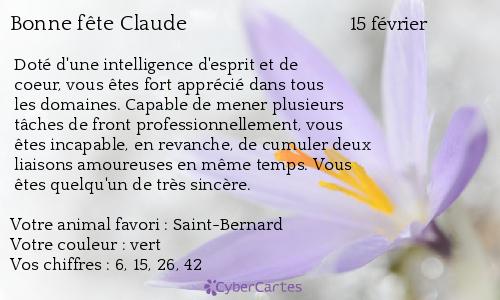 Salut les amis !!!!  - Page 5 Claude