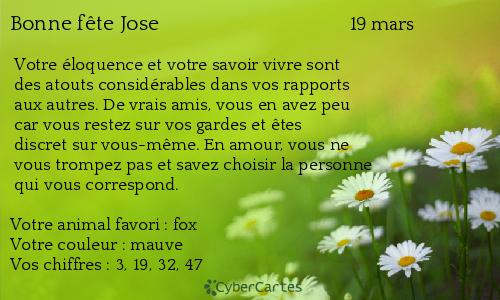 chaque jour un saint  - Page 6 Jose