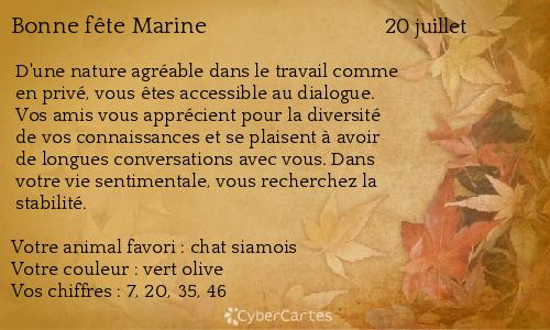 Carte bonne fête Marine (20 juillet) ! 5b93e1de470